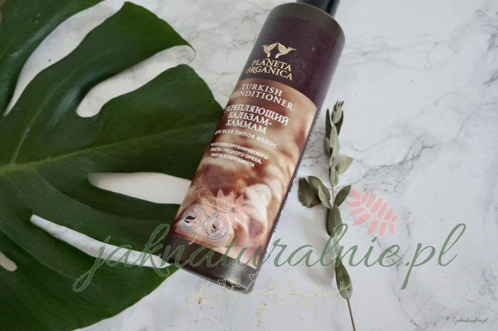 Planeta Organica: Turkish conditioner, wzmacniający balsam hammam do wszystkich rodzajów włosów