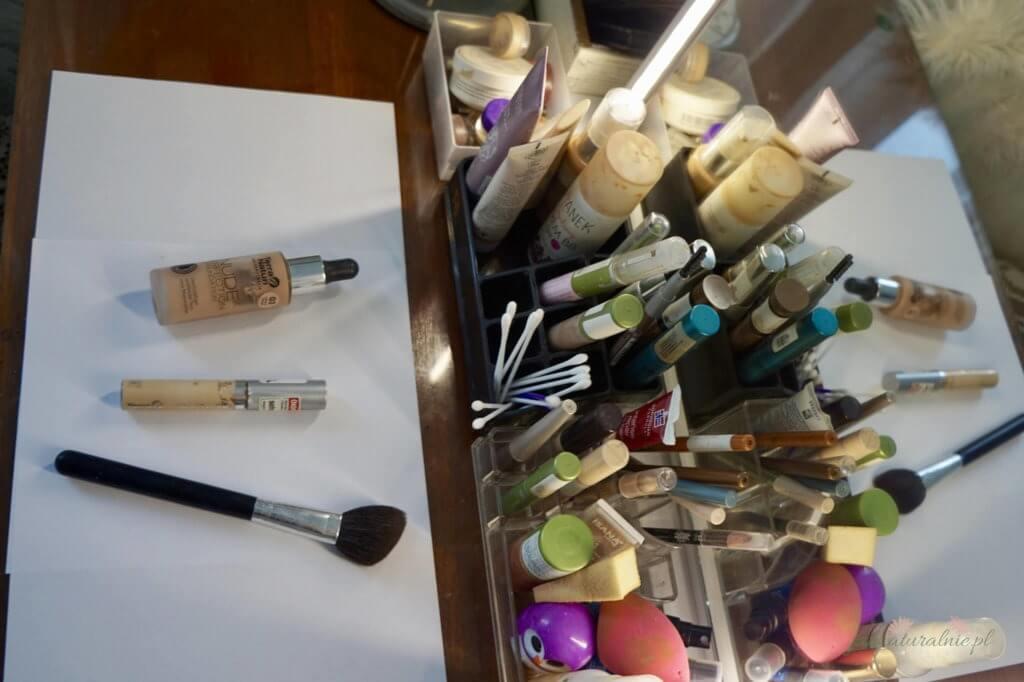 moja toaletka kosmetyki do makijażu