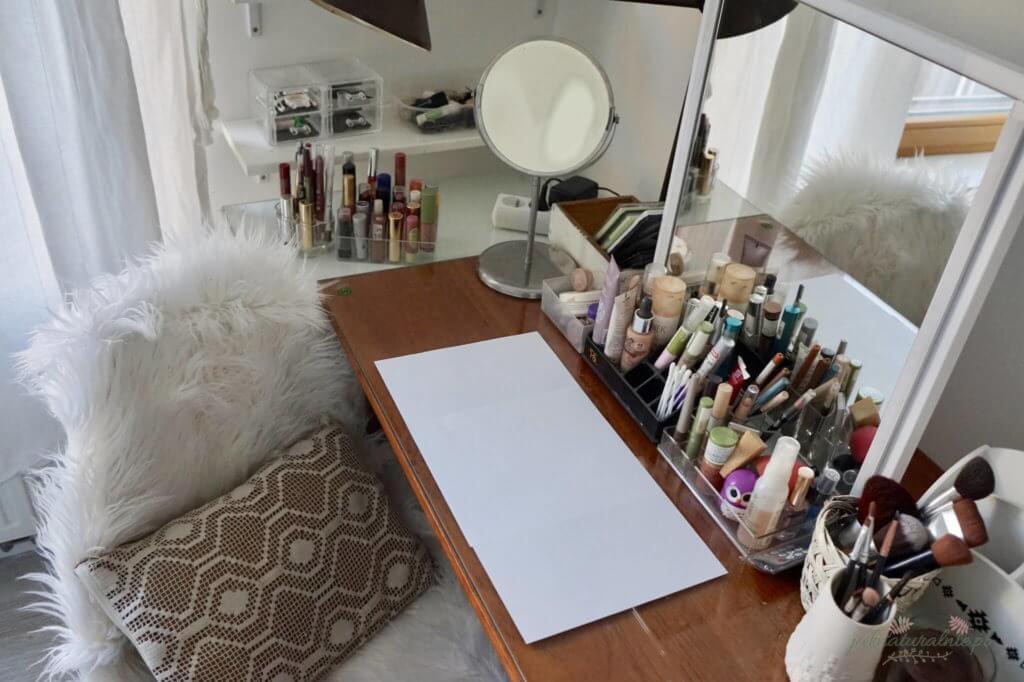 moja toaletka kolekcja makijażu