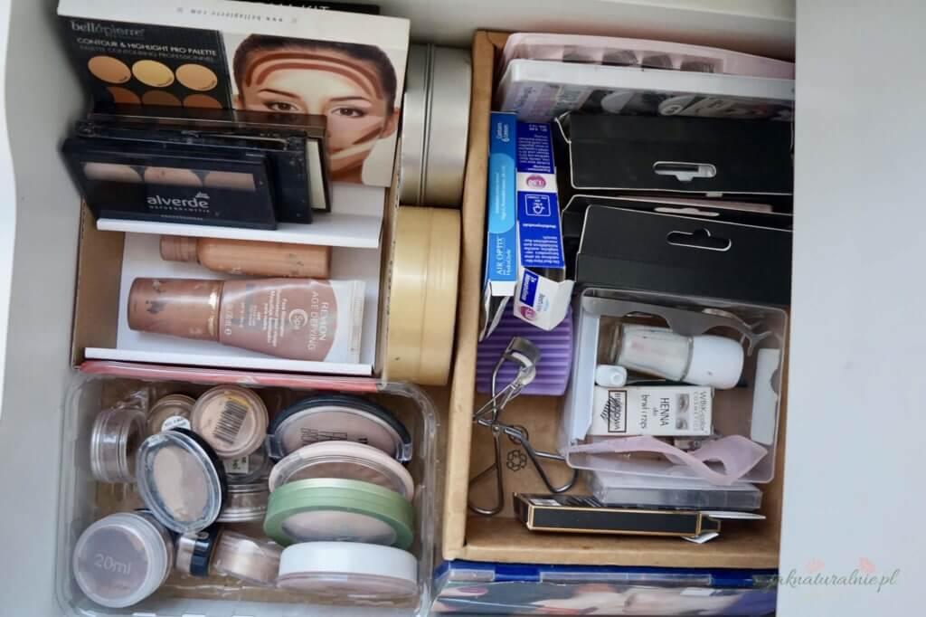 moja toaletka bronzery, kosmetyki do makijażu