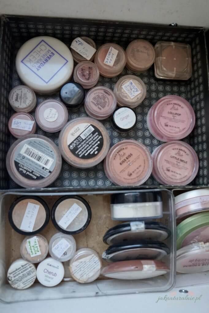 moja toaletka, kosmetyki do makijażu