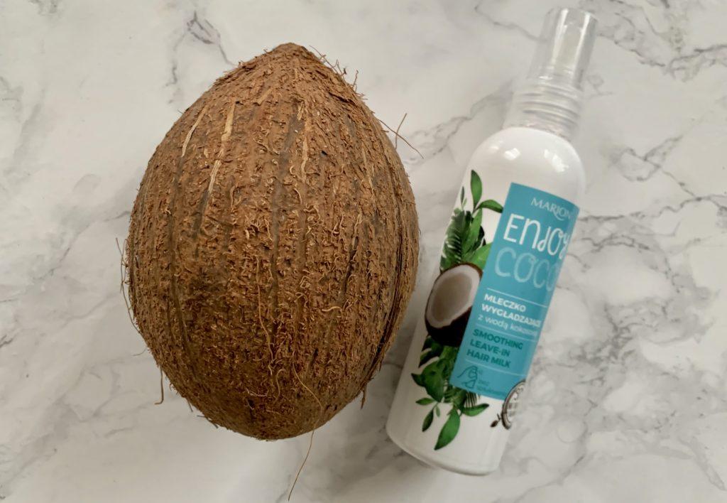 Marion, Enjoy Coco, Smoothing Hair Milk (Mleczko wygładzające z wodą kokosową)