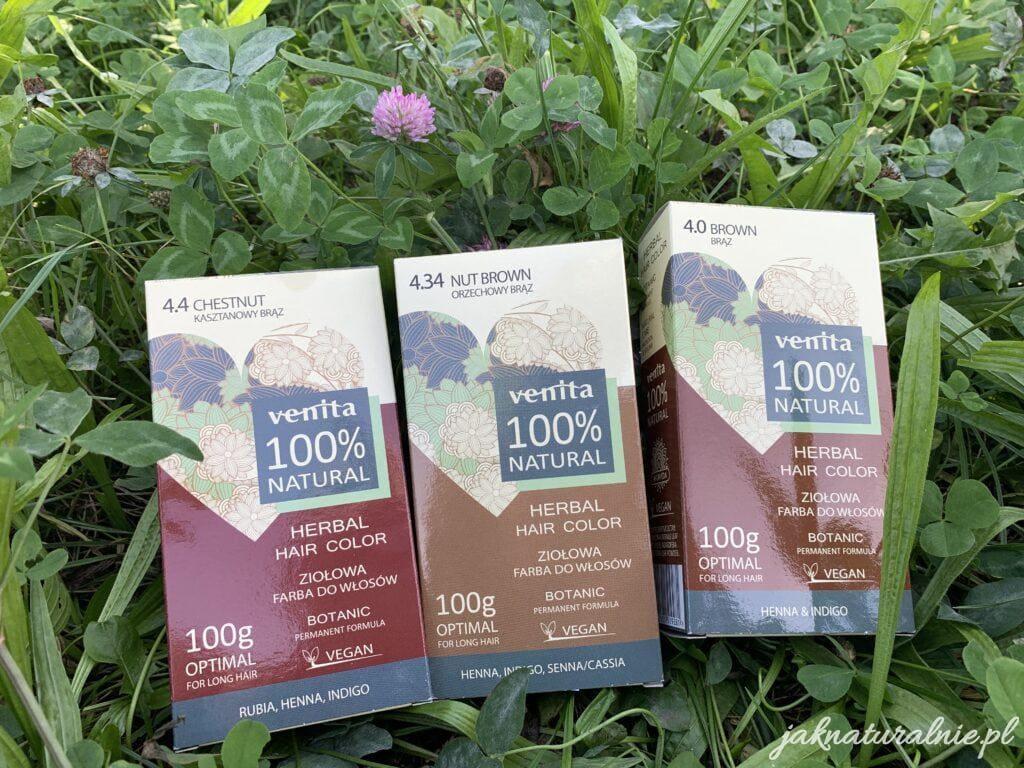 Venita, farby ziołowe do włosów | 100 % natural