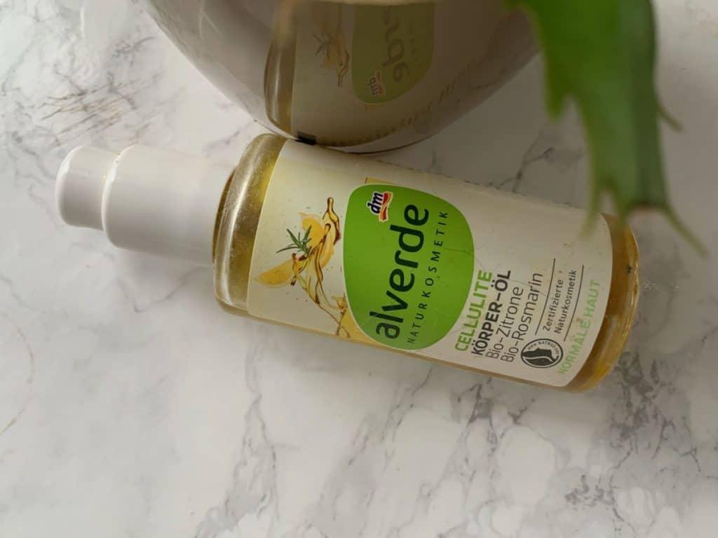 Alverde, Cellulite Korperol Zitrone Rosmarin (Anti-cellulite body oil with lemon and rosemary)